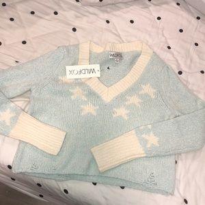 Wildfox light blue sweater